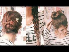 Tres peinados fáciles para los días aburridos y llenos de pereza 2bd9b01ce5d