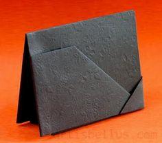 Kartenhalter Origami