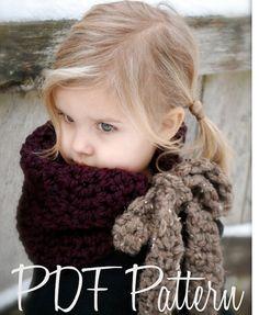 Crochet PATTERN-The Viena chimenea (tamaños de adulto, niño)