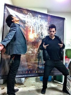 Andrew and David from Crown The Empire