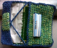 Ravelry: All-in Tobacco Pouch pattern by Marije Kloet