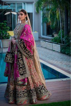 Pakistani Formal Dresses, Pakistani Bridal Dresses, Pakistani Dress Design, Pakistani Bridal Couture, Beautiful Pakistani Dresses, Fabulous Dresses, Indian Bridal Outfits, Indian Designer Outfits, Designer Dresses