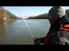 Fishing with Football Jigs for Bass - YouTube