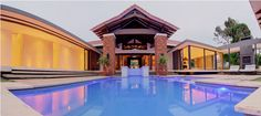 Superb residence: Fusion of contemporary and Bali-inspired influences, Kwazulu-Natal, South Africa Kwazulu Natal, Plunge Pool, Creme, Luxury Homes, Bali, Swimming Pools, How To Look Better, Things To Come, Explore