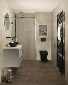 23 Clever DIY Christmas Decoration Ideas By Crafty Panda Taupe Bathroom, Mosaic Bathroom, Bathroom Renos, Modern Bathroom, Dream Home Design, House Design, 3d Design, Minimalist Web Design, Complete Bathrooms