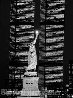 Liberty and the World Trade Center - 1983