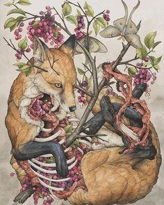 Lauren Marx creates beautiful vignettes that speak to the cycle of life. via news.upperplayground.com #upnews