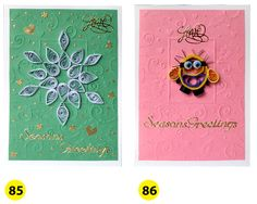 Season's Greetings Christmas Greeting Card with by vitbich on Etsy