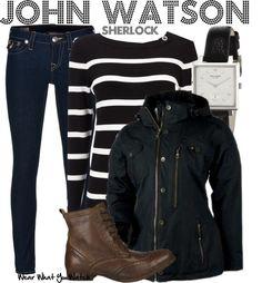 Inspired by Martin Freeman as John Watson on the BBC's Sherlock.