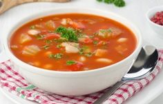 Slow Cooker Hearty Vegetable and Bean Soup-- easy and good!