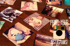 a fun, affordable, and super easy way to print your instagram photos - oh, sweet joy!