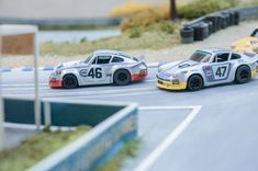 Porsche 911 Carrera RSR 24h Le Mans 1973 Custom Slot Car
