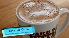 Lucy Bee Healthy Hot Chocolate With Cacao Powder Recipe