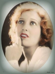 Jeanette MacDonald - tinted oval.