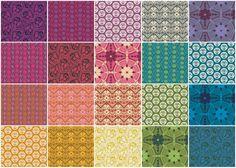 True Colors - Anna Maria Horner Fat Quarter Bundle - Anna Maria Horner - Free Spirit Fabrics