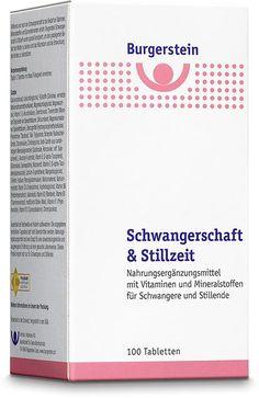 Burgerstein Schwangerschaft und Stillzeit