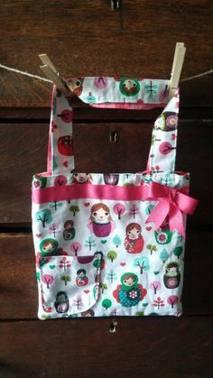 Check out this item in my Etsy shop https://www.etsy.com/listing/242436187/russian-doll-girls-tote