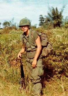 Frank Bayer of Alpha Company, 2nd Battalion, 5th Cavalry Regiment.