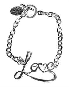 Love Script Bracelet - Christian Bracelet for $12.99 | NOTW.com
