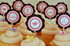 cupcake toppers, I could do this