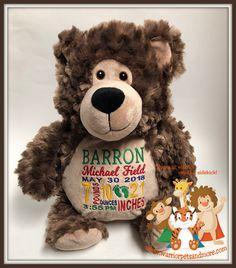Personalised Memorial Keepsake Angel Teddy Bear Handpicked By Grandad In Heaven