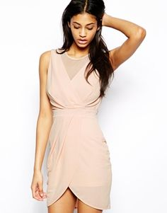 Buy TFNC Dress With Mesh Top And Wrap Skirt at ASOS. With free delivery and return options (Ts&Cs apply), online shopping has never been so easy. Get the latest trends with ASOS now. Ball Gowns Evening, Women's Evening Dresses, Grad Dresses, Bridesmaid Dresses, Maxi Dresses, Party Dresses, Bridesmaids, Summer Wedding Attire, Tfnc