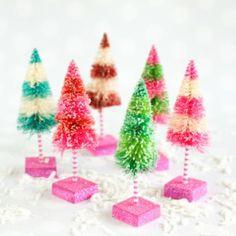 Tiny Sisal Trees