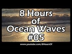 Ocean waves and ocean sounds for sleep and relaxation 8 hours of sleep sounds. Thanks everyone for your huge support and for supporting my channel, love you all! :) Please like, subscribe and comment if you enjoyed this video. It will really help me out a lot. :)  http://www.youtube.com/subscription_center?add_user=8hoursof