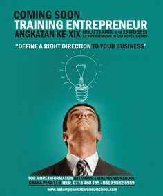 Batam Pos Entrepreneur School: TRAINING ENTREPRENEUR ANGKATAN KE-19