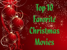 My Top 10 Kids Christmas Movies