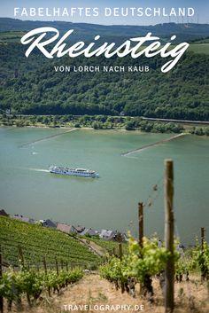 Naherholung im Rheingau – der Rheinsteig