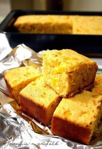 Sweet Cornbread -excellent! Substituted with 1c of the reg flour with whole wheat flour, the whole milk with skim, and the vegetable oil with coconut oil. Soooo good and the subs made it seem healthier.