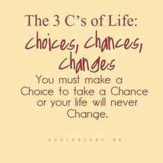 Choices, Chances, Changes | 20 Inspirational Quotes About Changing Yourself