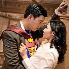 Karnis and Alex played tribute to Clark Kent and Lois Lane for their fun engagement photos in Metropolis!