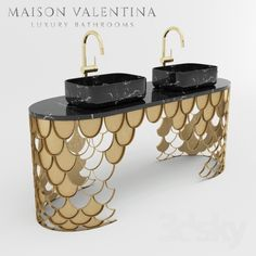 Maison Valentina is a luxury brand specialized in high-end bathroom furniture. Bathroom Accessories Luxury, Bathroom Design Luxury, Luxury Bathrooms, Hotel Bathrooms, Blue Bathrooms, Guest Bathrooms, Douche Design, Bathroom Trends, Bathroom Ideas