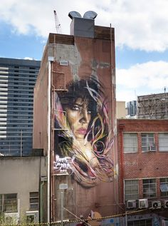 Best Street Art From Adnate in Melbourne, Australia - StreetArt101