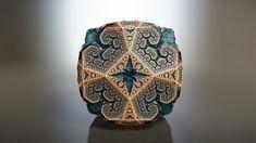 Fabergé Fractals - sub.blue