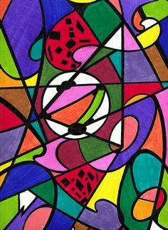Doodle art - Terri Ford