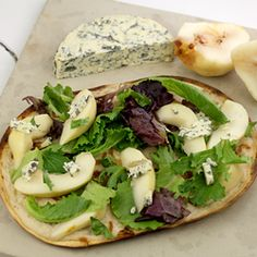 Blue Cheese & Pear Pizza!