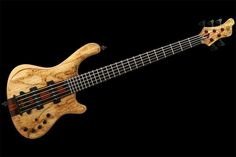 """This week we check out the Mayones Prestige Classic, a bass the company calls """"a tempting luxurious instrument for connoisseurs with clear yet rich tone of modern Nordstrand Fat Stack pickups."""" The bass, which comes in 4-, 5-, and 6-string versions, features neck-thru construction with several layers of wood. The body wings have an ash..."""