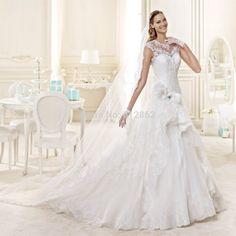 cream color wedding dresses - best dresses for wedding Check more at http://svesty.com/cream-color-wedding-dresses-best-dresses-for-wedding/
