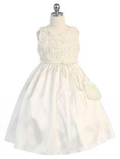 Adelle Girls Dress - PuddlesCollection.com