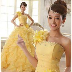 カラー花嫁ウェディングドレス パーティードレスドレス カラードレス 披露宴 演奏会 結婚式 二次会ドレス