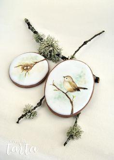 Viva La Tarta, bird cookies