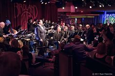The Birdland Big Band, Music Director: Tommy Igoe (Guest Conductor, Rob Middleton) live New York 2014