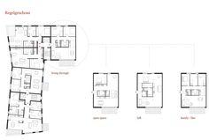 Flexibles Raumprinzip mit definiertem Kern, © KBNK Architekten GmbH