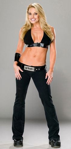 WWE Divas - Trish Stratus - News - OMG I love me some Trish Stratus sphere lol she was an awesome wrestler ! Beautiful