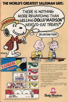 Dolly Madison ads
