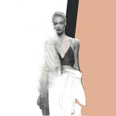Fashion illustration by EmStanisz