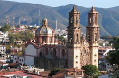 Taxco Private Day Trip by Van from Acapulco Enjoy a journey to beautiful Taxco, a magical town of Mexico. A charming unforgettable and romantic small colonial city located in the North Sierra Madre Mountains, with a great and unique architectural style cobblestone streets and white stucco give a fantastic character to this magnificent City. Your tour includes a private guide and transport.After hotel pickup, your tour will make the first stop in Chilpancingo (capital of the s...